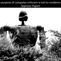 purpose of computer criticism