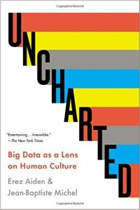Erez Aiden and Jean-Baptiste Michel, Uncharted: Big Data as a Lens on Human Culture (Riverhead Books, reprint edition, 2014)